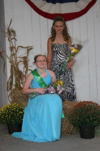 2012 Princess Brooke Aucker & Runner up Olivia Folk