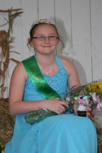 2012 McClure Bean Soup Festival & Fair Princess Brooke Aucker
