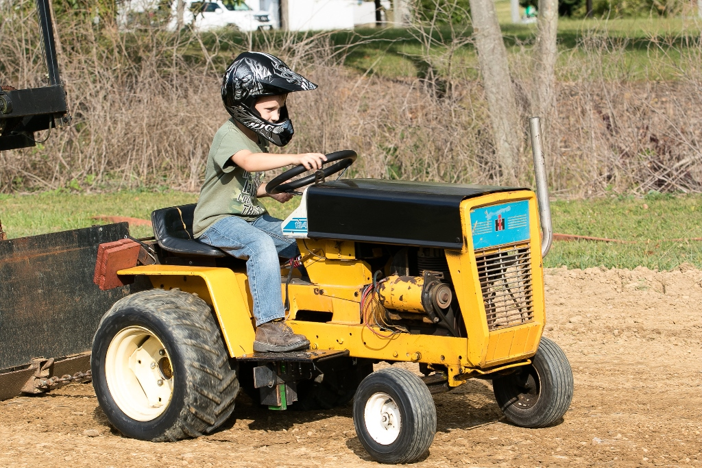 Cut Tractor Pulling Tires : Garden tractor pulls